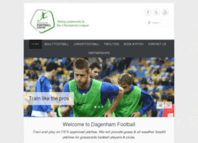 dagenhamfootballcentre.co.uk