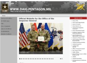 daig.pentagon.mil