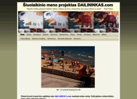 dailininkas.com
