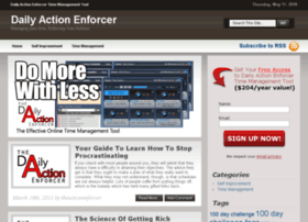dailyactionenforcer.com