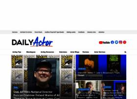 dailyactor.com