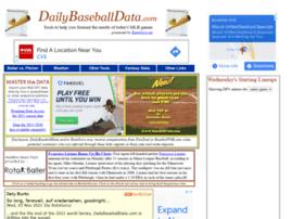 dailybaseballdata.com