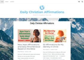 dailychristianaffirmations.com
