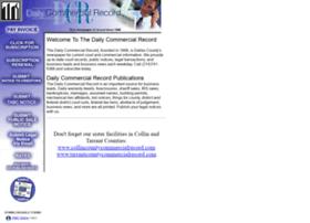dailycommercialrecord.com