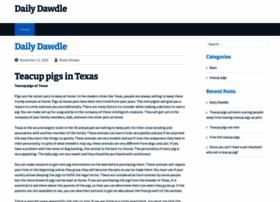 dailydawdle.com