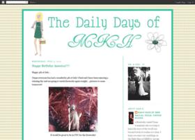 dailydaysofmkh.blogspot.com