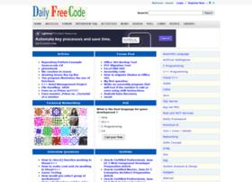 dailyfreecode.com