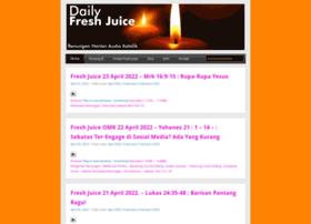 dailyfreshjuice.net