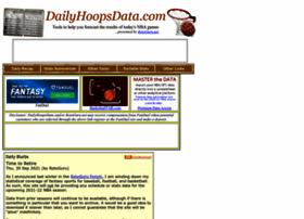 dailyhoopsdata.com