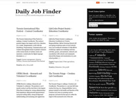 dailyjobfinder.wordpress.com