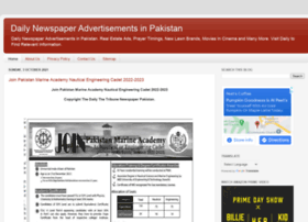 dailynewspaperadspk.blogspot.com