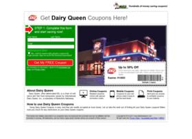 dairyqueen.fastfoodsaver.com