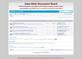 dakebibleboard.com