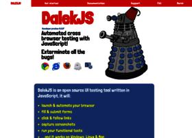 dalekjs.com