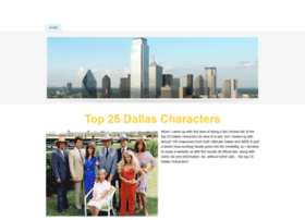 dallas25.weebly.com