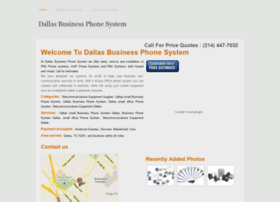 dallasbusinessphonesystem.com