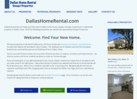 dallashomerental.com