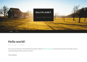 dalyplanet2.wordpress.com