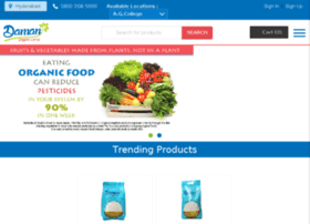 damanorganicfoods.com