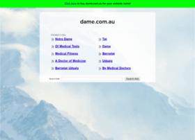 dame.com.au