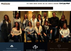 dameronsmiles.com