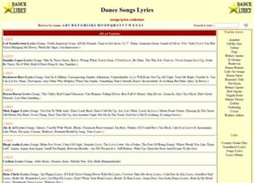 dance-lyrics.com