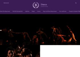 dance.barnard.edu