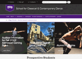 dance.tcu.edu
