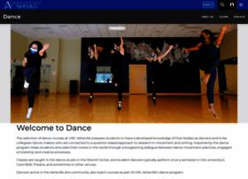dance.unca.edu
