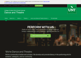 danceandtheatre.unt.edu