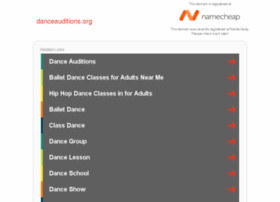 danceauditions.org