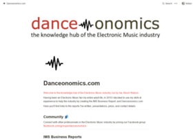 danceonomics.com