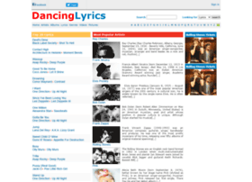 dancinglyrics.com