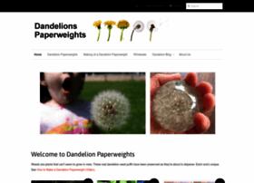 dandelionpaperweights.com