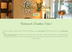 dandelionsalon.com