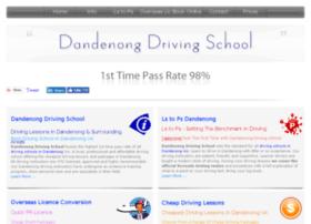dandenongdrivingschool.com