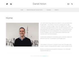 danielacton.com