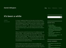danielallington.net