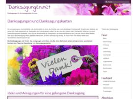 danksagungen.net