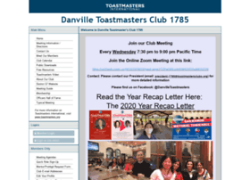 danville1785.toastmastersclubs.org