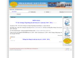 daotao.huflit.edu.vn