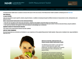 Dapa-toolkit.mrc.ac.uk