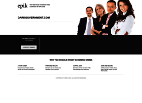 darkgovernment.com