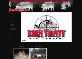 darkthirtyhogcontrol.com