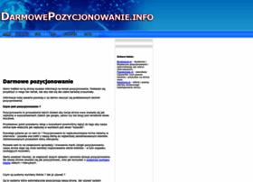darmowepozycjonowanie.info