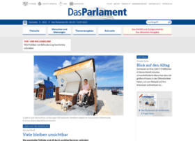 das-parlament.de