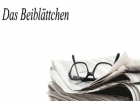 dasbeiblaettchen.com