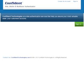 dashboard.confidentmfa.com