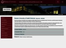 dashboard.westernu.edu
