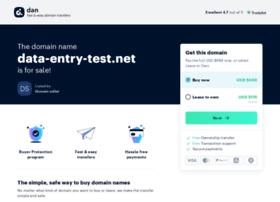data-entry-test.net
